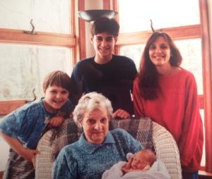 Grandma, Derek, Ryan, Me & Jacquelyn