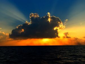 Cloud in the Sunlight by Ibrahim Iujaz | CC BY 2.0