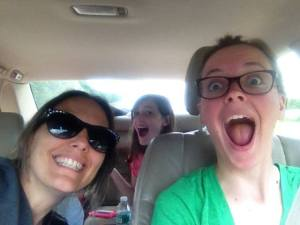 Family Photo | All Girl Road Trip!