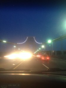Family Photo | GW Bridge Monday at 5:30am, almost no traffic!