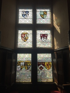 See William Crichton Chancellor's name on the bottom left. It's the top name on the left, so the corresponding crest (top left) is also his.