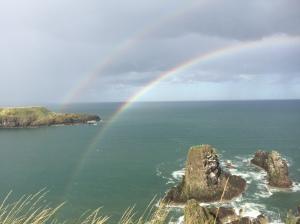 The second double rainbow!