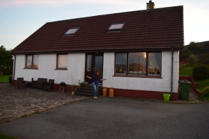 our house in the Isle of Skye